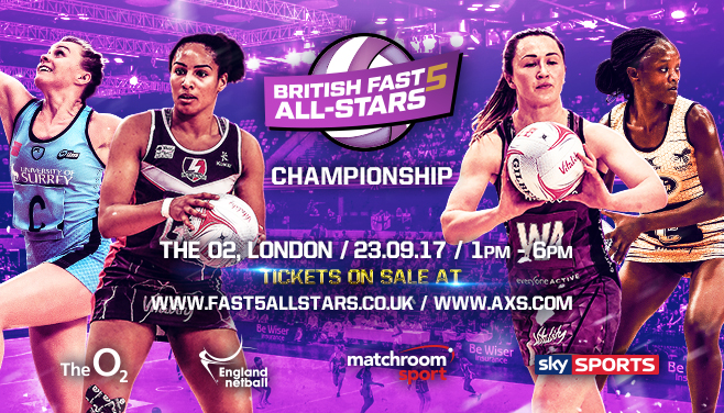 NEW Fast5 All-Stars Championship at the O2