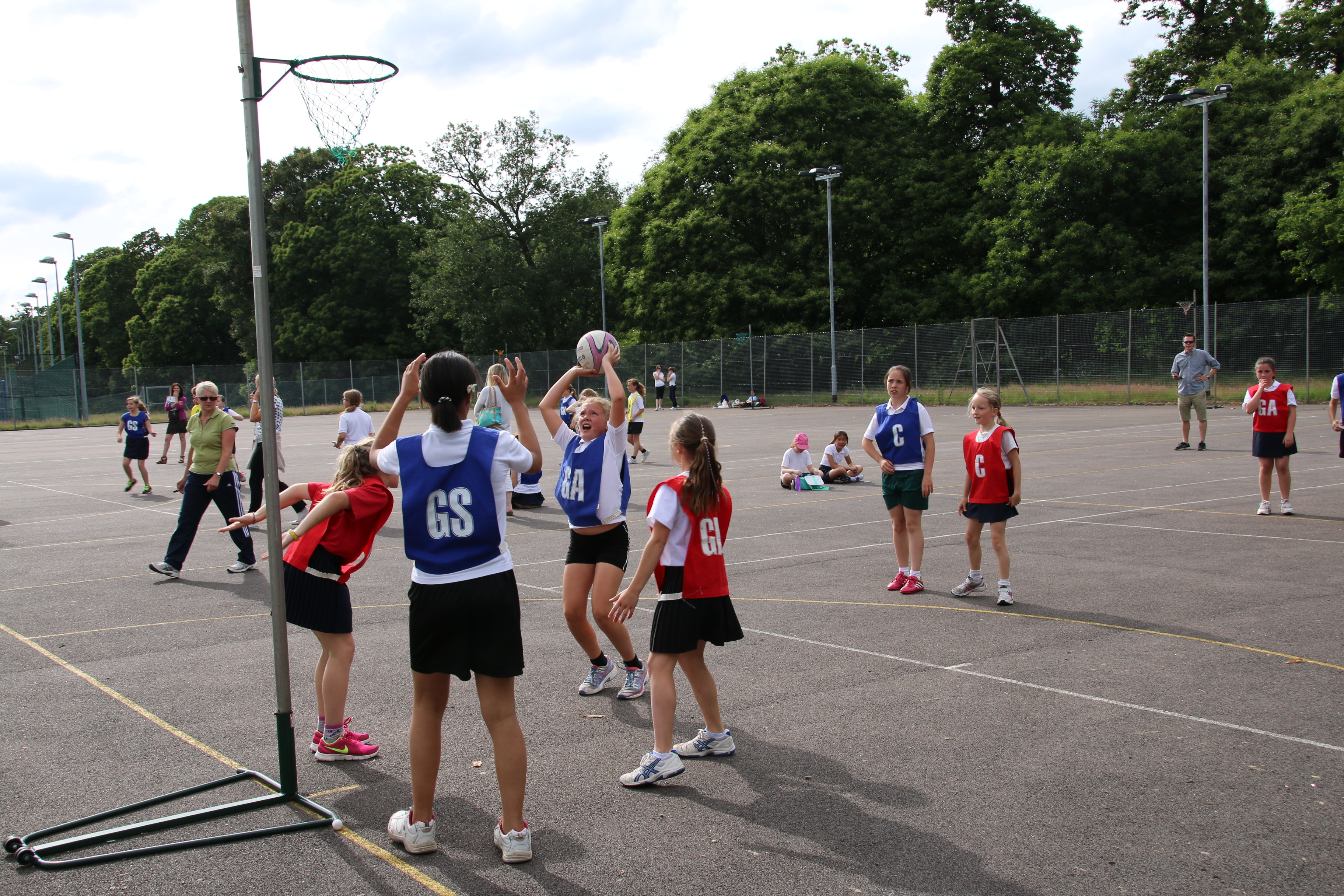 Norwich SSP Developing Netball