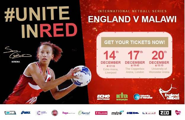 England to welcome Malawi